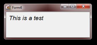 DrawText sample