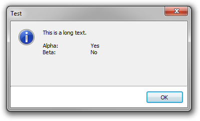 Rich Edit dialog box