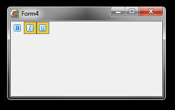 Toolbar sample